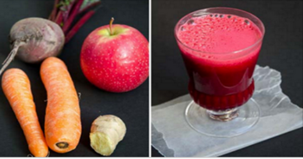 beet carrot apple juice