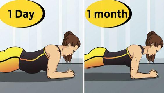 Resserre ton ventre en 30 jours avec le défi Plank   – ventre plat