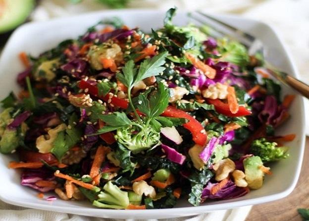 Detoxifying salads